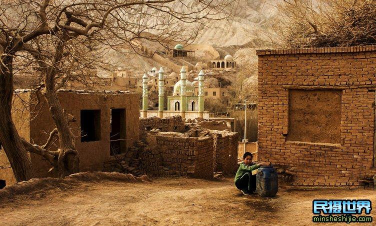 新疆杏花摄影团-那拉提-吐峪沟-库木塔格沙漠-吐尔根杏花村摄影团