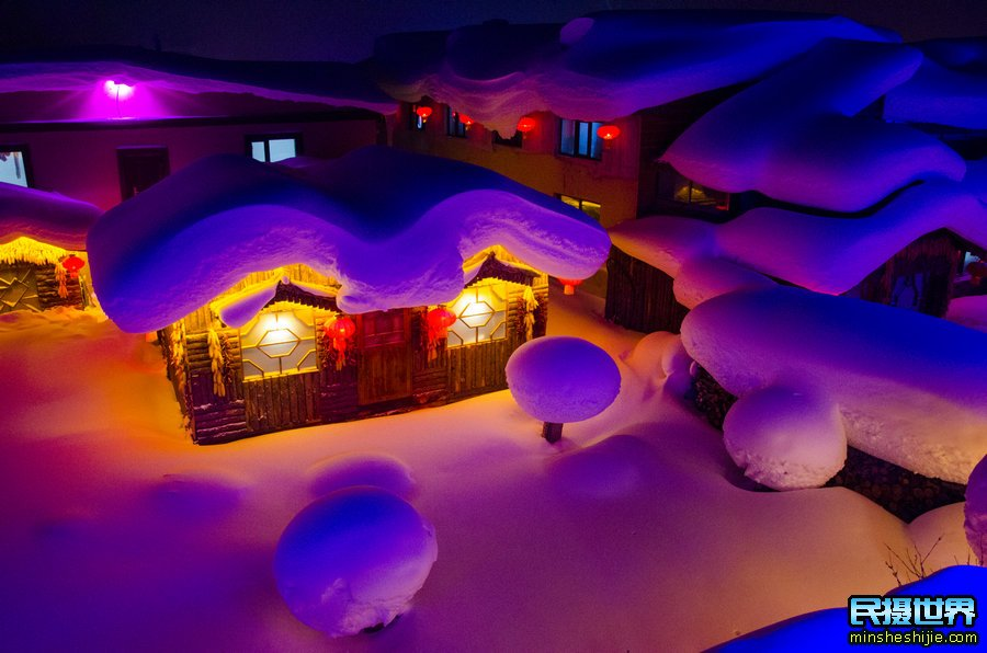 民摄世界最美雪乡雾凇岛摄影团-二浪河-东北虎园-长白山天池-魔界-雪村-哈尔滨摄影团