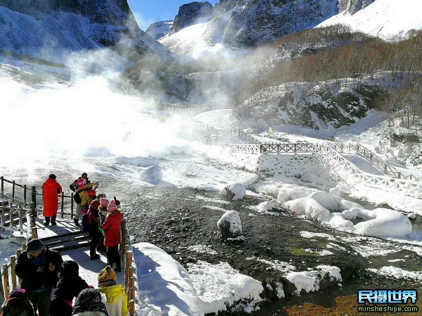 民摄世界-春节长白山-雾凇岛-魔界-东北虎林园-雪乡摄影团