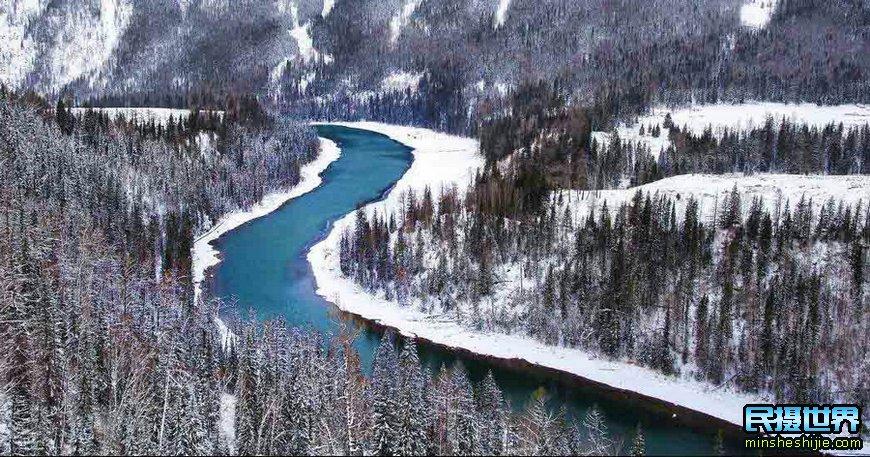 冬季北疆禾木喀纳斯摄影团-赛里木湖-世界魔鬼城-冬季天鹅泉摄影团