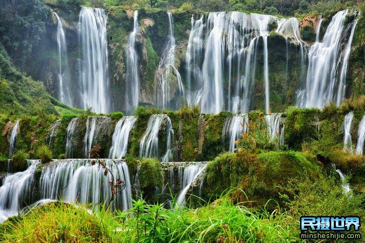 云南旅游摄影团之九龙瀑布群-多依河-鲁布革三峡风景区-罗平旅游摄影