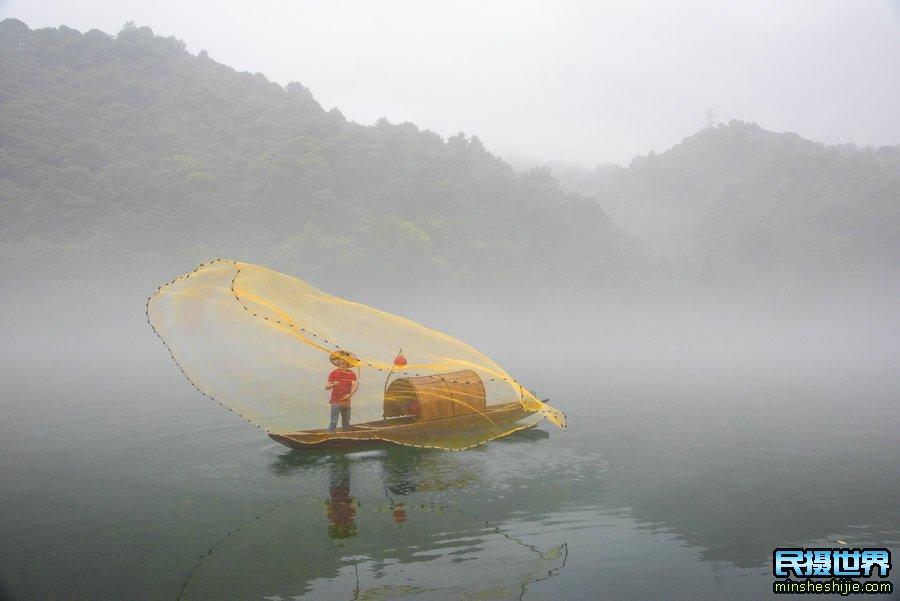 8月湖南雾漫小东江摄影团-最美水上丹霞-紫鹊界梯田摄影团