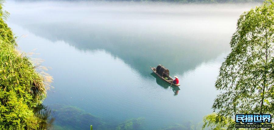 湖南姑娘节摄影团-之最美水上丹霞-紫鹊界梯田-雾漫小东江摄影团